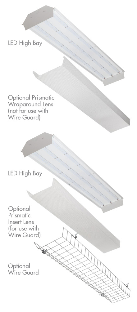 High bay LED styles